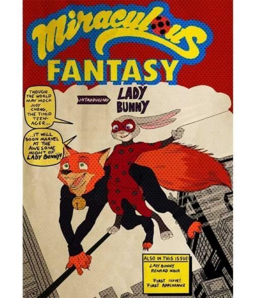 Miraculous fantasy Póló - @7