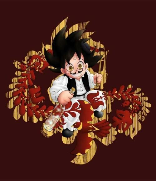 Hun Goku Póló - @Chizuru