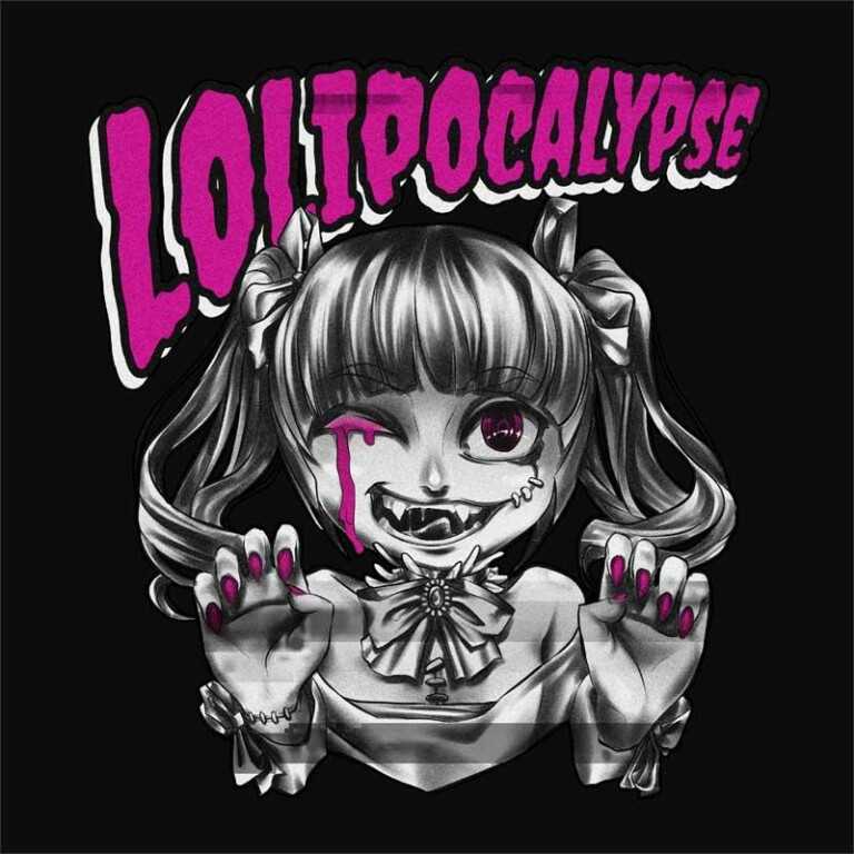 Lolipocalypse Magenta Póló -  - Hellodalice